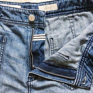 Anthropologie Shorts - Pilcro & the Letterpress Anthro Braided Shorts